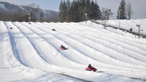 Snow Tubing in Pennsylvania