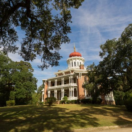 Longwood, one of many National Historic Landmarks and plantations in architecture-rich Natchez