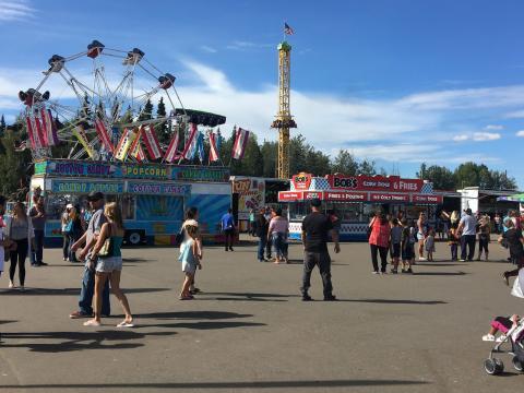 Fun at the Tanana Valley State Fair