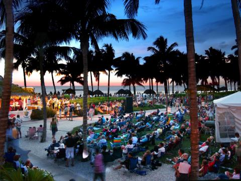 SummerJazz on the Gulf music series in Naples, Florida