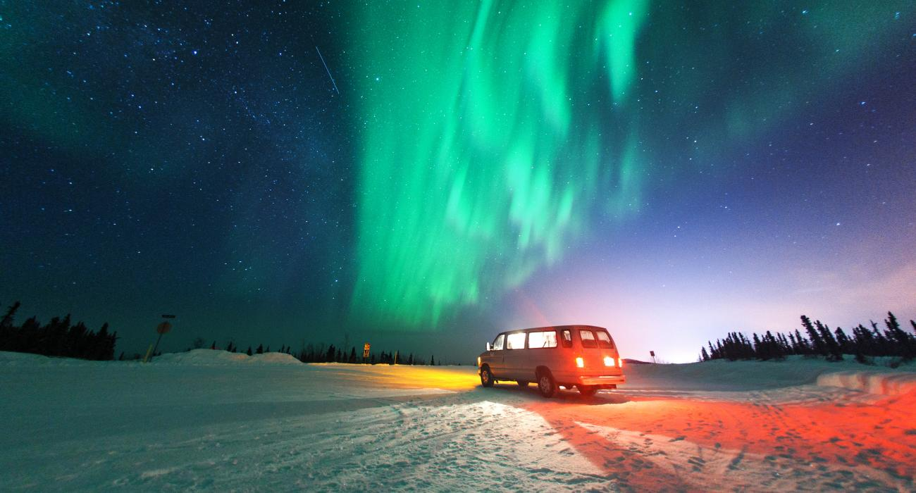 See the northern lights at the North Cape, Norway