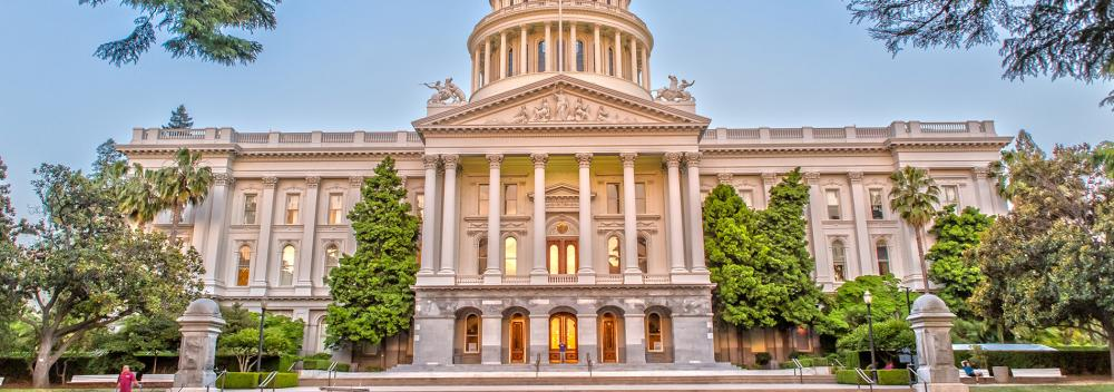 California State Capitol building in Sacramento, California